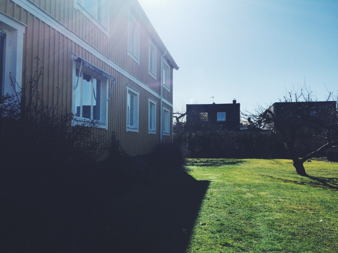 backyard uppsala