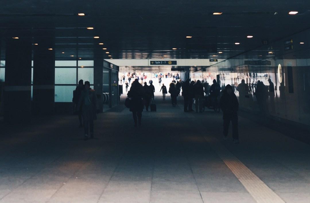 work commute uppsala train station