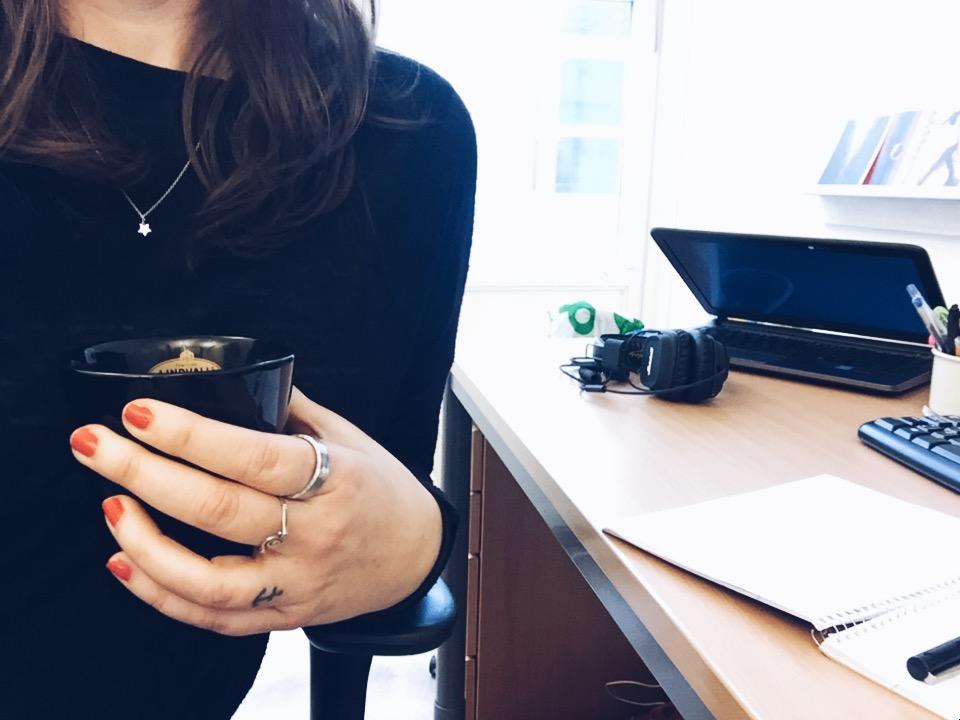 me work coffee