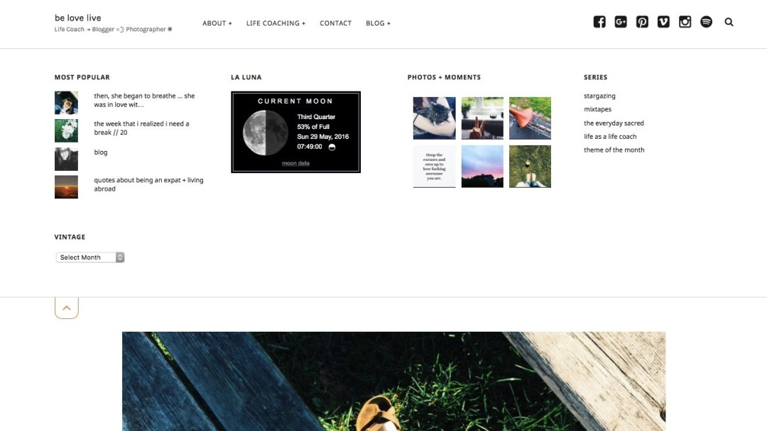 blog belovelive design theme