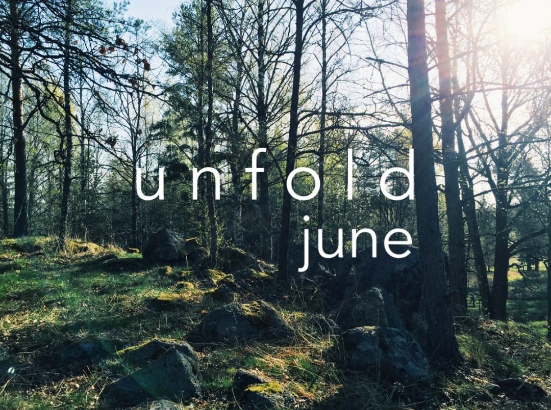 june unfold playlist woods trees