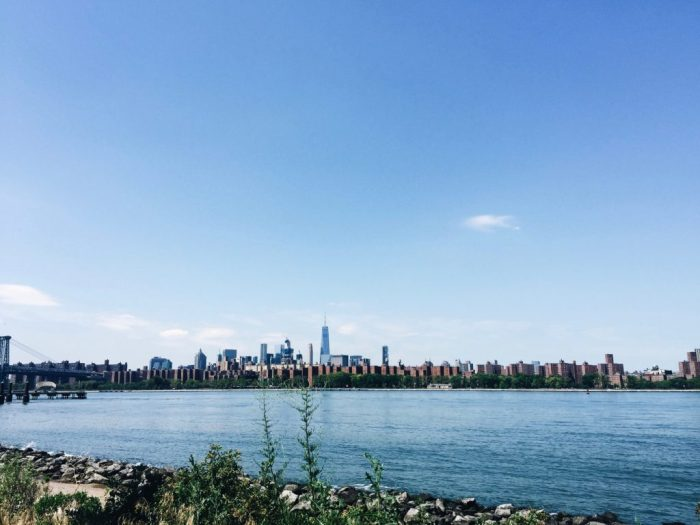 nyc east river skyline