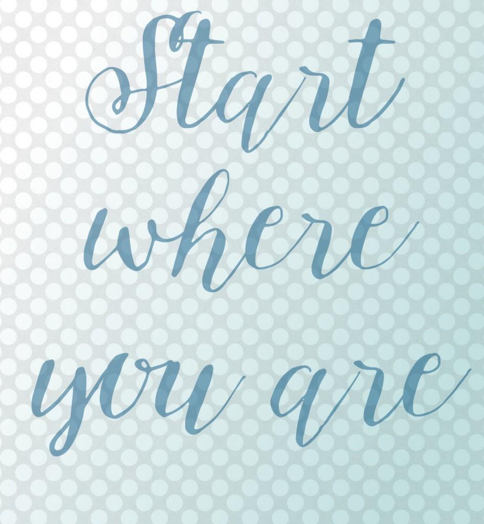 startwhereyouare