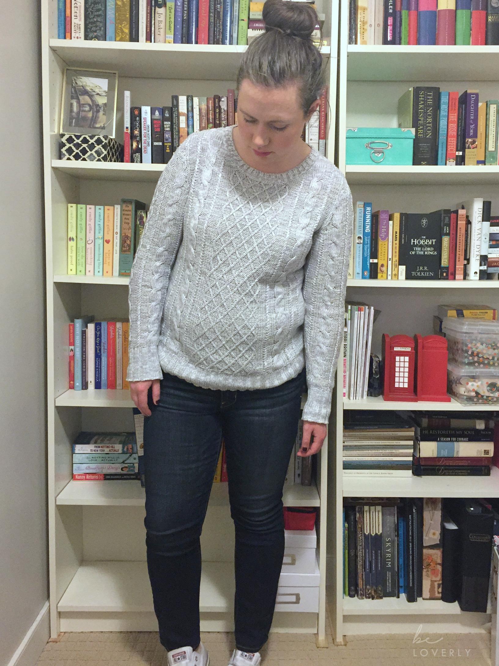 octoberootd-oldnavysweater