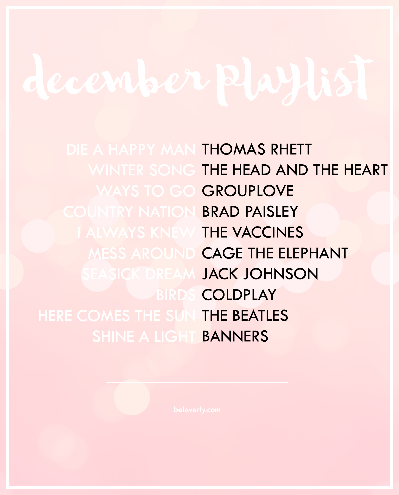 decemberplaylist2015