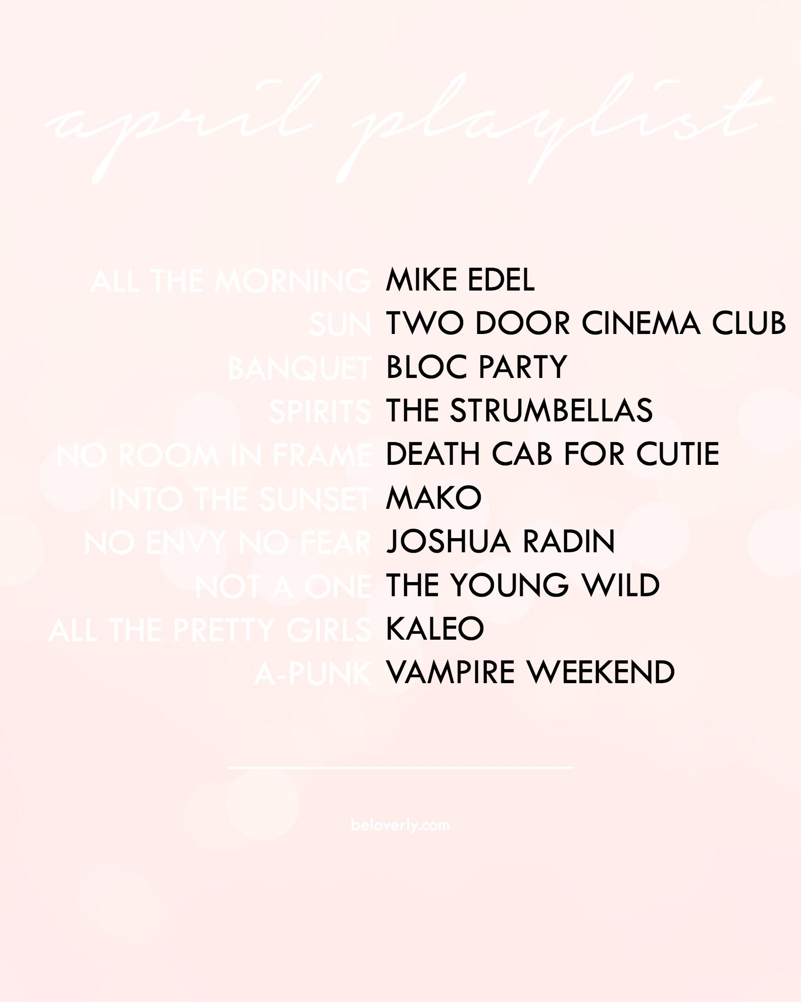 aprilplaylist-2016