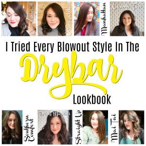 I Tried Every Drybar Blowout Style | Below Freezing Beauty