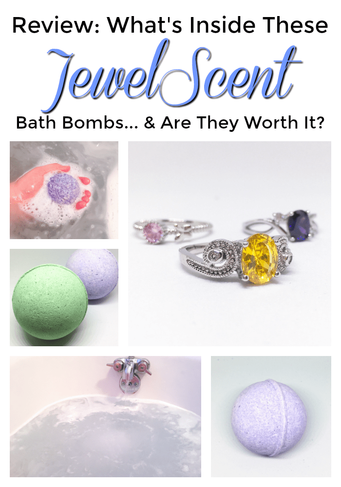 JewelScent Ring Bath Bombs Review | Below Freezing Beauty