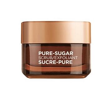 L'Oreal Pure-Sugar Face Scrub | Below Freezing Beauty