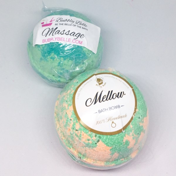 Bubbly Belle Mellow and Massage Ring Bath Bombs | Below Freezing Beauty