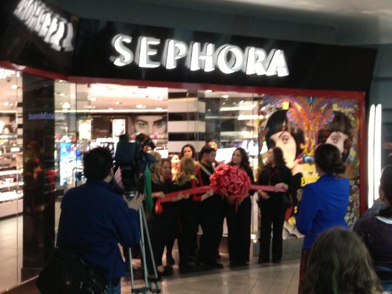 Sephora Grand Opening