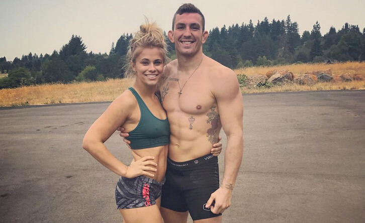Paige VanZant's Fiance Gets His Shot On The UFC's Tuesday Night