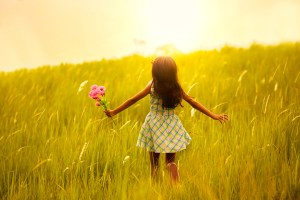 Little Girl In Sunlight shutterstock_141891718
