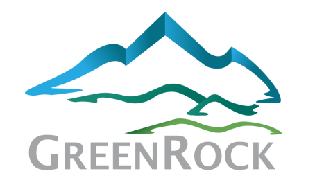 Logo GreenRock PNG for T-Shirt 3 Font Lucida Sans CROP