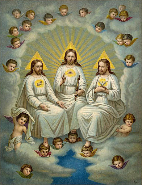 Holy Trinity by Fridolin Leiber
