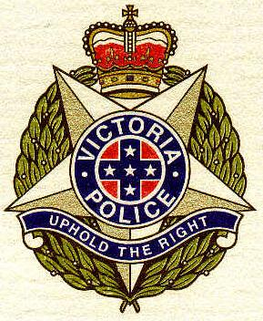 Upside down pentagram used in the emblem of a police force. A pentagram the right way up is a symbol of light (of a person ascending to heaven). Forces of darkness use this symbol by inverting it and thus attracting the powers of darkness.