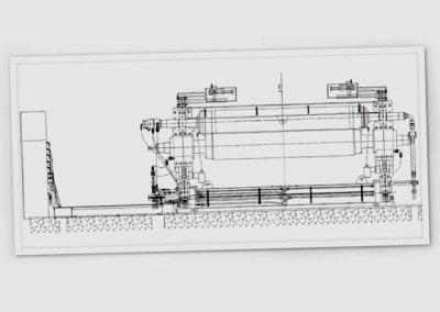 Calandra Hidráulica para Máquina de Papel Valmet – Brasil