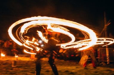 Each year our fire festival finds new ways to play with fire... | Copyright Martin McCarthy for BFS. All rights reserved.