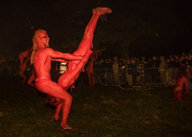 Reds at Beltane Fire Festival 2017 | Copyright Dan Mosley for Beltane Fire Society.