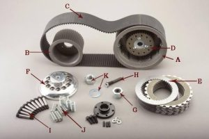 Open Belt Drive Kits for Softail® and Dyna Models   Belt