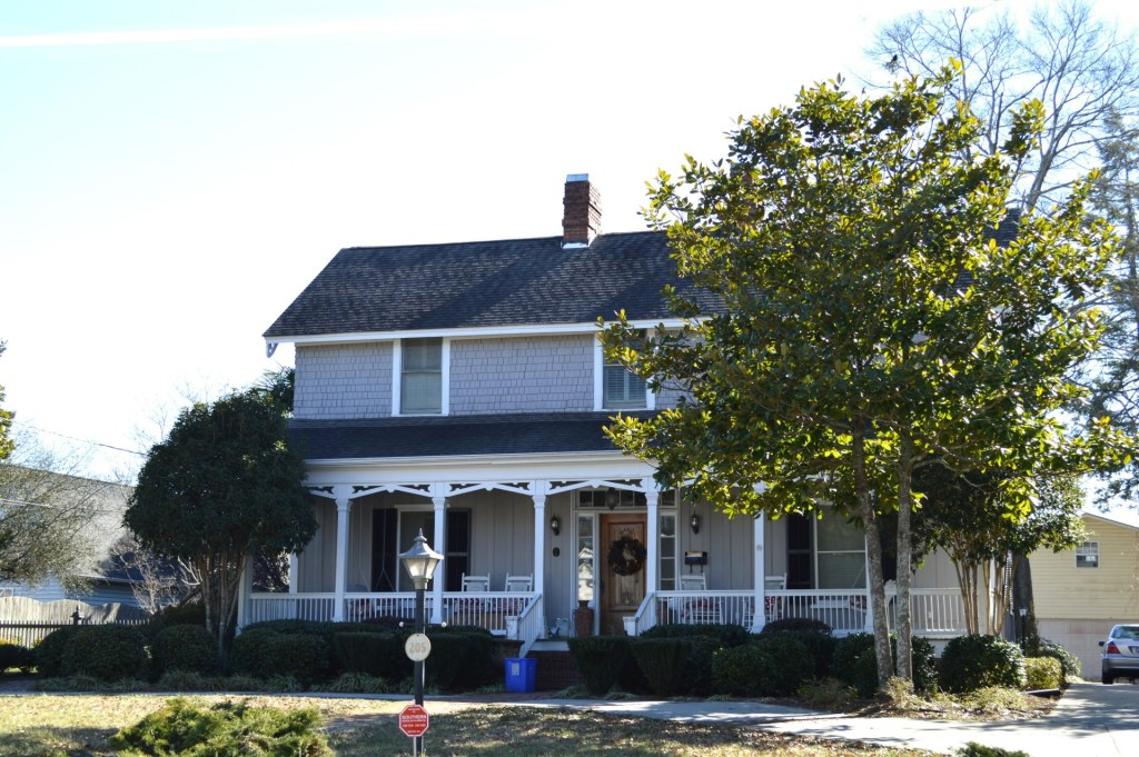 The historic Chamberlain-Kay House, the oldest home in Belton