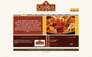 Website for Casa Real