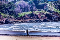 Cannon Beach Surfer