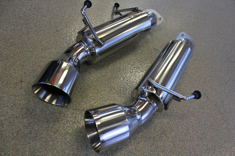 beluga racing infiniti g37 coupe 2008 2013 3 7l stainless performance axle back exhaust