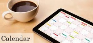 Calendar with Coffee at Belvidere Church
