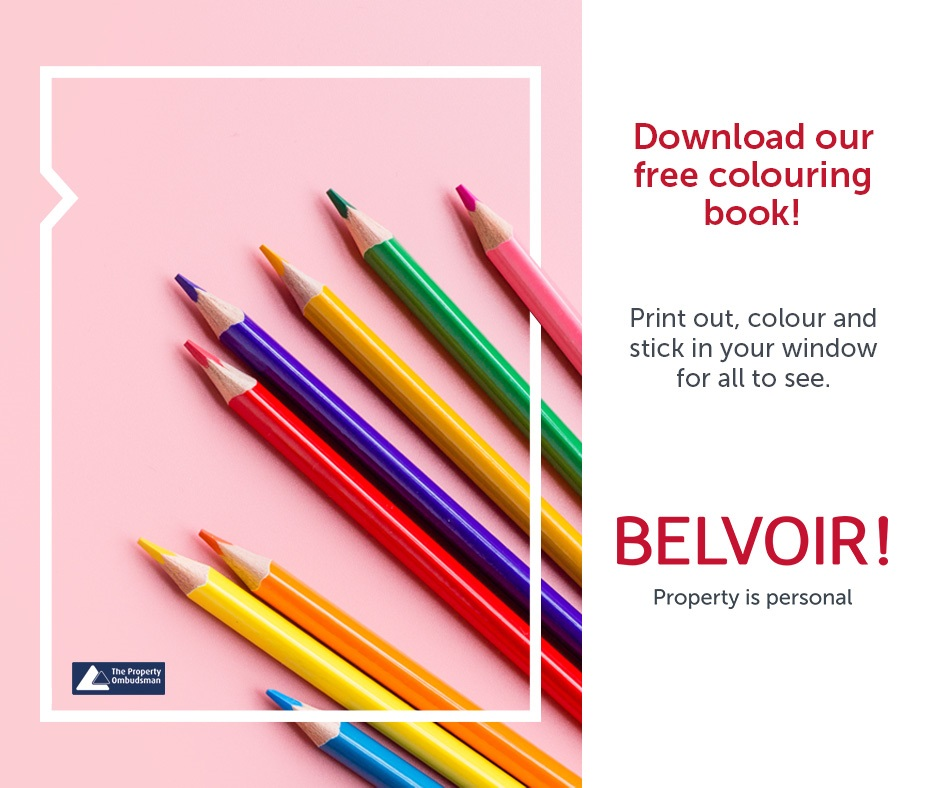 Belvoir Andover - Download our free colouring in book for your kids to show their support for Key Workers
