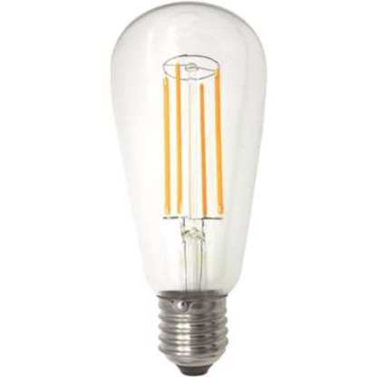 LED Filament Lanterne ST64 E27 5,5W 2100K 600LM Dimbar | Belysning.online