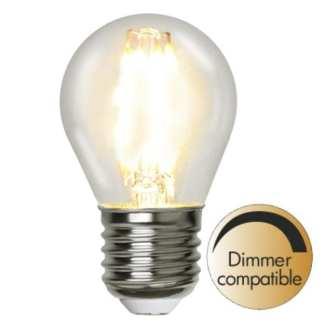 ILLUMINATION KRONE KLAR 4,2W (37W) E27 2700K 420LM DIMBAR   Belysning.online