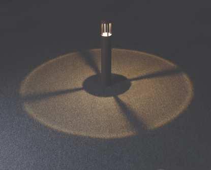 Fenix lyspullert 9W LED mørk grå, IP54   Belysning.online