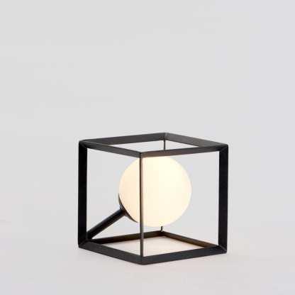 Tilt bordlampe 12 x 12 Cm G-9 Sort | Belysning.online