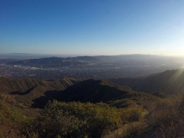 Phenomenal view from Beaudry Loop on one of the best LA hiking trails