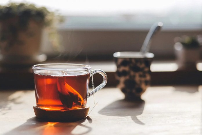 livre do inchaço com chá