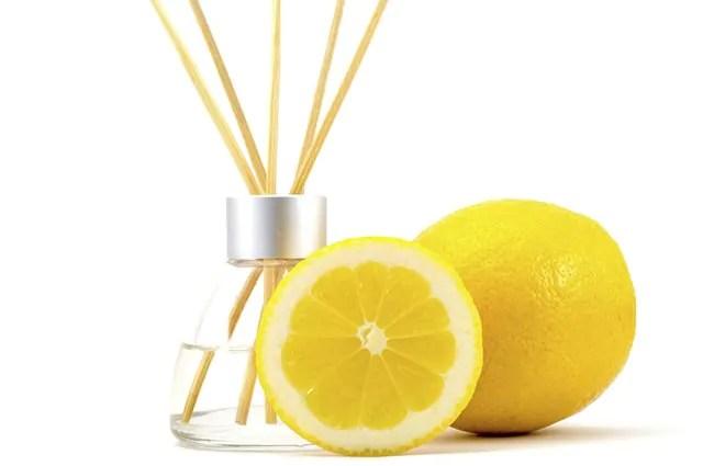 aromatizador caseiro de limão