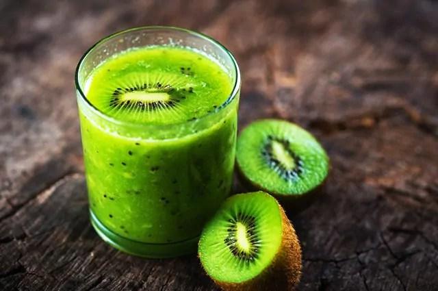 Use o melão para fazer combinações com o suco de kiwi