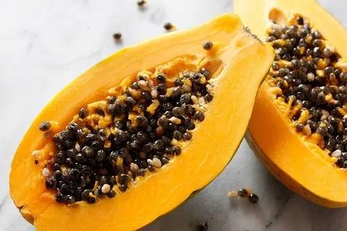 mamão vitaminas e nutrientes
