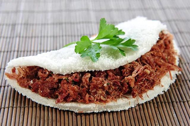 A tapioca pode engordar, vai depender do recheio e da quantidade consumida