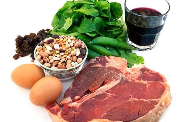 O feijão branco é o alimento considerado mais rico em ferro