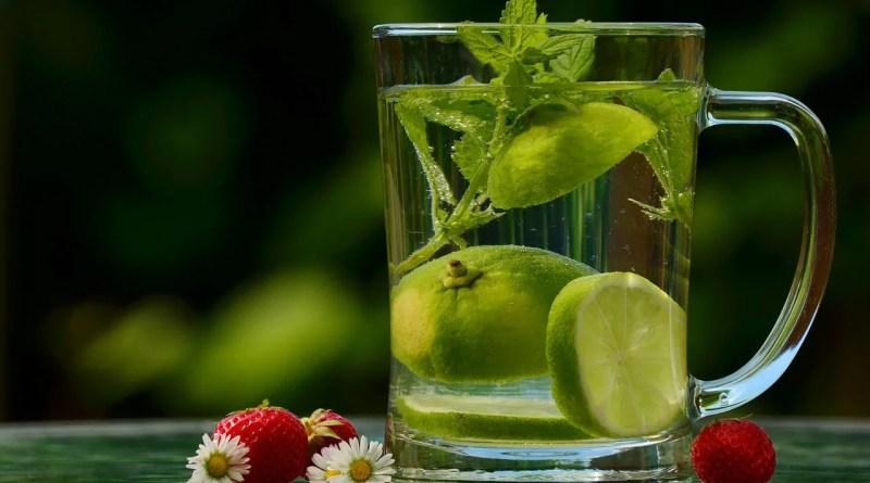 perder peso bebendo água