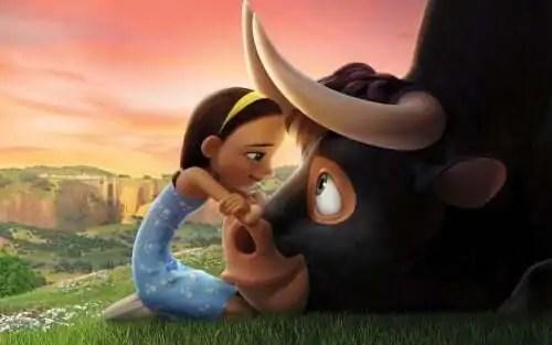 ferdinando-e-um-touro-gentil-e-bonachao Filmes que ensinam as crianças sobre o amor dos animais