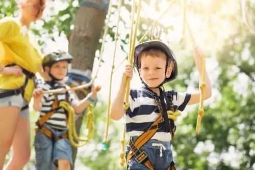 acampamentos-urbanos Como organizar uma festa de seus filhos, se você estiver trabalhando em