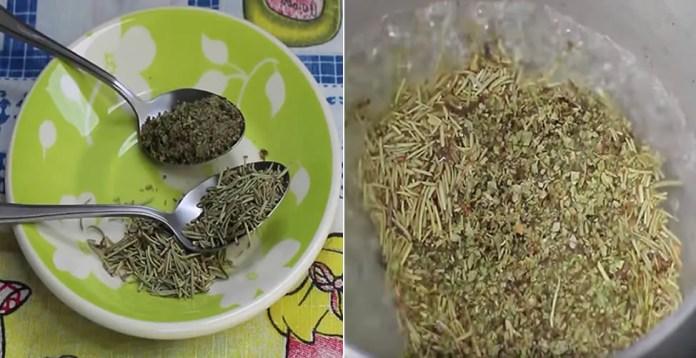 1-10 Este chá de orégano com alecrim vai te fazer emagrecer muito
