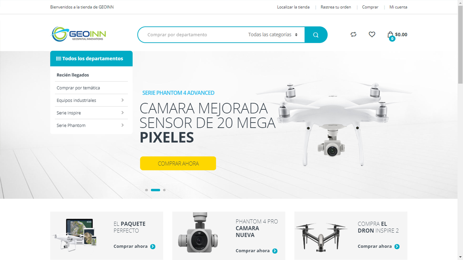 GeoInn Tienda De Drones *