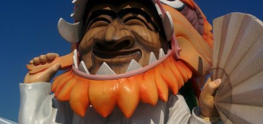 Yearly mask festival in andong