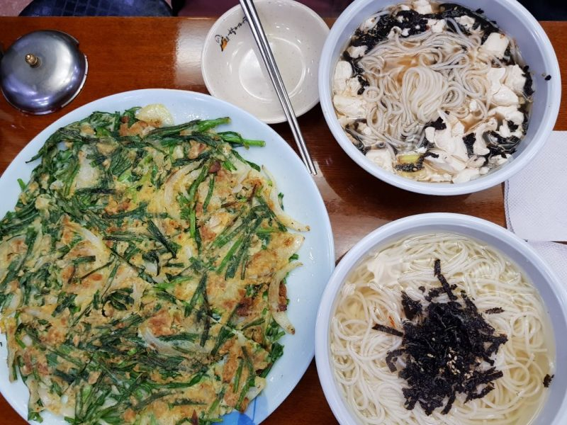 best restaurants in myeongdong food