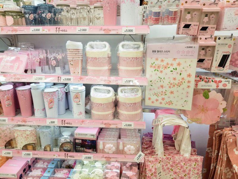 myeongdong shopping stores