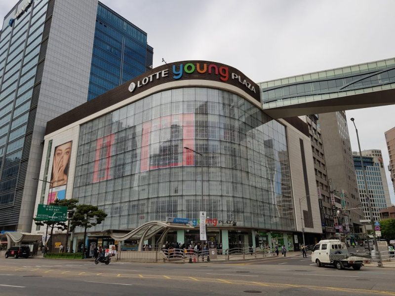lotte department store myeongdong opening hours